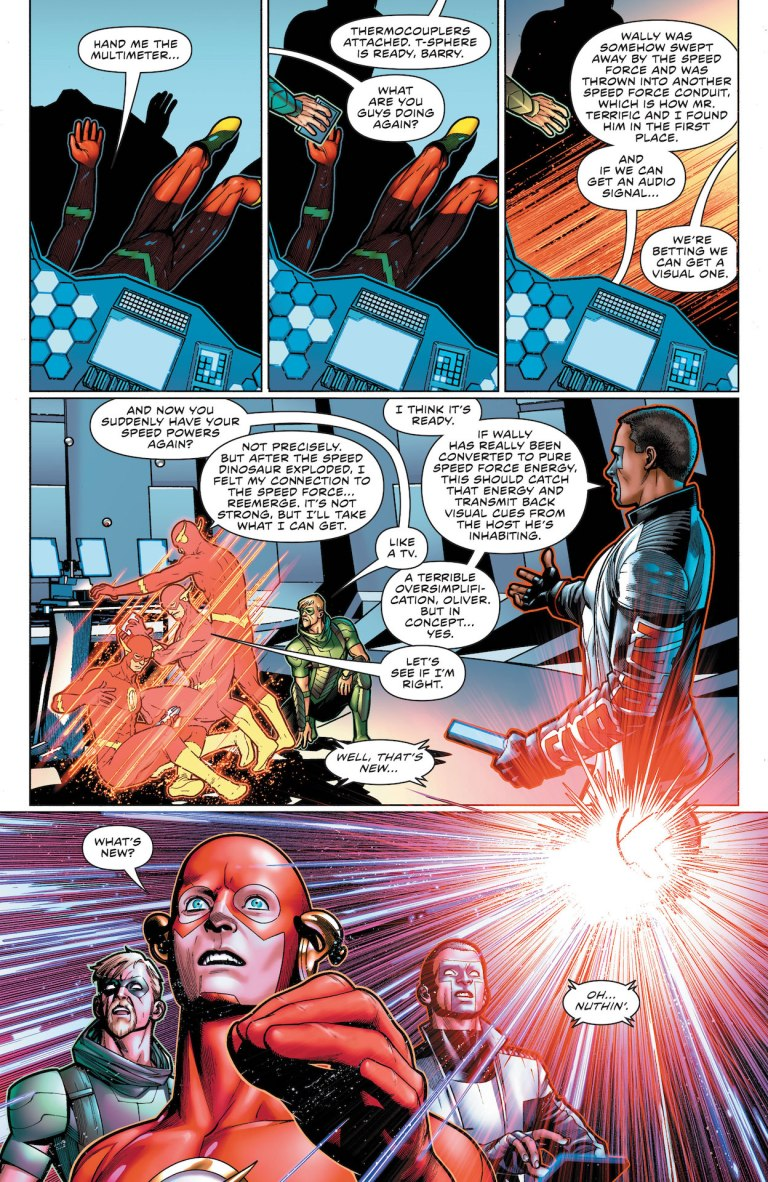 The Flash #769 preview