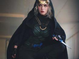 Lady Loki cosplay by ArmoredHeart